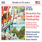 Ives: Decoration Day, Fourth of July, Thanksgving / James Sinclair