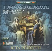 Tommaso Giordani: Harpsichord Concertos