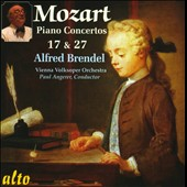 Mozart: Piano Concertos No. 17, K.453 / Alfred Brendel