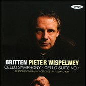 Britten: Cello Symphony; Cello Suite No. 1 / Pieter Wispelwey