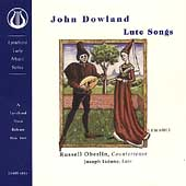 Dowland: Lute Songs / Russell Oberlin, Joseph Iadone