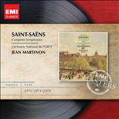 Saint-Sa&#235;ns: Complete Symphonies / Jean Martinon