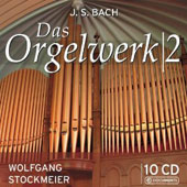 JS Bach: Organ Works Vol. 2 / Wolfgang Stockmeier, organ [10 CDs]