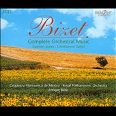 Bizet: Complete Orchestral Music / Enrique Batiz [3 CDs]