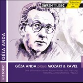 Mozart: Piano Concerto K453 (rec. 1952) & K 488 (rec. 1963); Ravel: Piano Concerto for the Left Hand (rec. 1952) / Geza Anda, piano