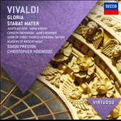 Vivaldi: Gloria; Stabat Mater / Judith Nelson, Emma Kirkby, Caroly Watkinson, James Bowman