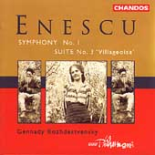 Enescu: Symphony no 1, etc / Rozhdestvensky, BBC Phil
