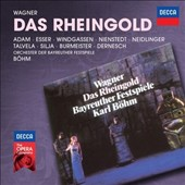 Wagner: Das Rheingold / Adam, Nienstedt, Silja, Esser, Windgassen, Neidlinger, Talvela, Burmeister, Dernesch. Bohm