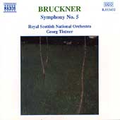 Bruckner: Symphony no 5 / Tintner, Royal Scottish National