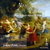 Yo m'enamorm d'un Aire: Anonymous Medieval Songs & Dances / Reval's Troubadours, Pokk