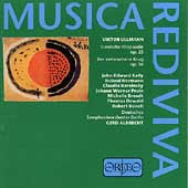Musica Rediviva - Ullmann: Der Zerbrochene Krug, etc