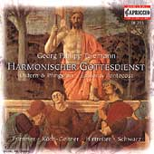 Telemann: Harmonischer Gottesdienst / Frimmer, K&#246;tz-Geitner