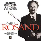 Brahms, Beethoven: Violin Concertos / Rosand, Inouye, et al