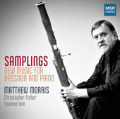 Samplings: New Music for Bassoon & Piano - works by Cooke, Avni, Reynolds, Flament, Boda, Stevens / Matthew Morris, bassoon; Christopher Fisher, piano