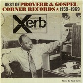Various Artists: Best of Proverb & Gospel Corner 1959-1969