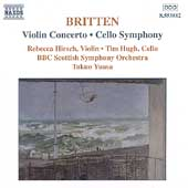 Britten: Violin Concerto, Cello Symphony / Yuasa, et al