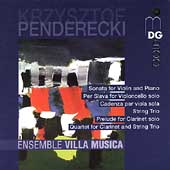 Penderecki: Chamber Music / Ensemble Villa Musica