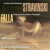 Stravinsky: Le sacre du printemps;  Falla /Markevitch, et al