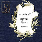 Recitals - An Evening with Alfredo Kraus Vol 1