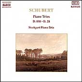 Schubert: Piano Trios D 929 & D 897 / Stuttgart Piano Trio