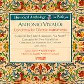 Historical Anthology - Vivaldi: Concertos / Janigro