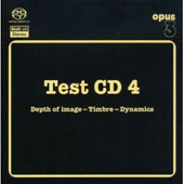 Test CD 4 - Depth of image - Timbre - Dynamics