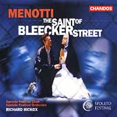 Menotti: The Saint of Bleecker Street / Hickox, et al