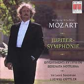 Mozart: Jupiter-Symphonie, etc / G&#252;ttler, Virtuosi Saxoniae