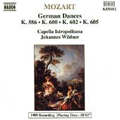 Mozart: German Dances / Wildner, Capella Istropolitana