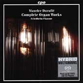 Duruflé: Complete Organ Works / Friedhelm Flamme