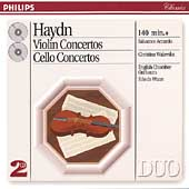 Haydn: Violin Concertos, Cello Concertos / Accardo, Walevska