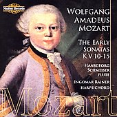 Mozart: The Early Sonatas / Schmeiser, Rainer