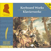 Mozart Edition Vol 13 - Keyboard Works