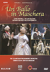 Verdi: Un Ballo In Maschera / Hirokami, Greager Mitchell (Color, 69 Min.) [DVD]