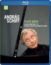 Bach: French Suites, Overture / Andras Schiff [Blu-Ray]