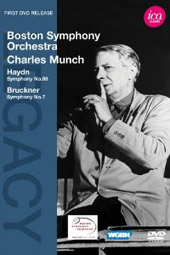 Haydn, Bruckner: Symphonies / Charles Munch, Boston SO [DVD]