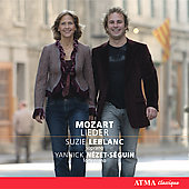 Mozart: Lieder / Suzie LeBlanc, Yannick N&#233;zet-S&#233;guin