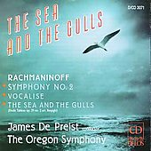 Rachmaninoff: Sym 2, Vocalise, Sea & Gulls / Oregon Sym / Depreist