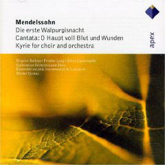 Mendelssohn: Die Erste Walpurgisnacht, O Haupt Voll Blut Und Wunden