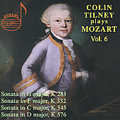 Colin Tilney plays Mozart Vol 6 - Sonatas