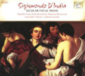 D'India: Sacred Vocal Music / Elyma Ensemble