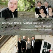 Mozart, Reger: Clarinet Quintets / Meyer, et al