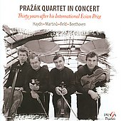 Prazak Quartet in Concert - Thirty years after his International Evian Prize