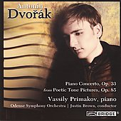 Antonin Dvorak: Piano Concerto in G Minor / Vassily Primakov