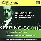 Stravinsky: Rite Of Spring; Firebird Suite Excerpts