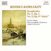 Rimsky-Korsakov: Symphonies nos 1 & 2 / Andr&eacute; Anichanov