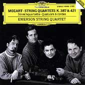 Mozart: String Quartets K 387 & 421 / Emerson String Quartet