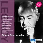 Shura Cherkassky plays Rachmaninov, Prokofiev, Stravinsky