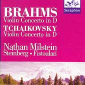 Brahms, Tchaikovsky: Violin Concertos / Nathan Milstein