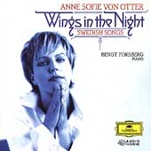Wings in the Night - Swedish Songs / Von Otter, Forsberg